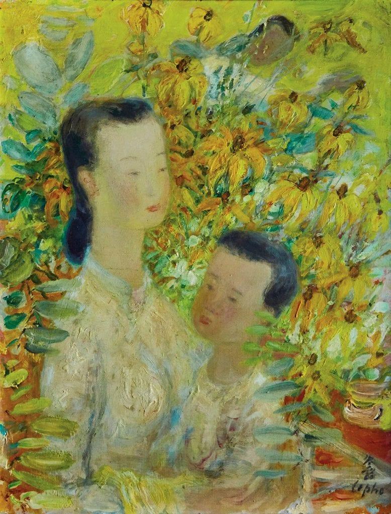 Mère et enfant de Le Pho